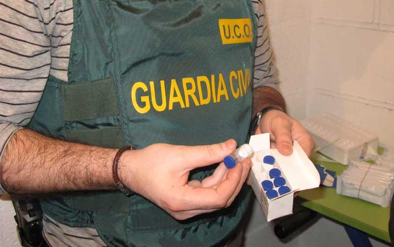 La Guardia Civil localizó varios kilos de sustancias estupefacientes