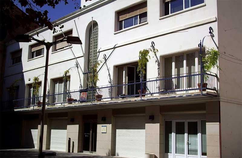 El edificio del Ayuntamiento de Premià de Mar