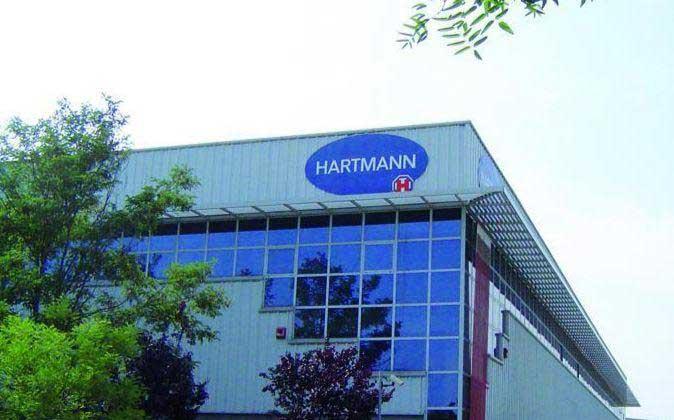 Hartmann tiene su central en España en Mataró