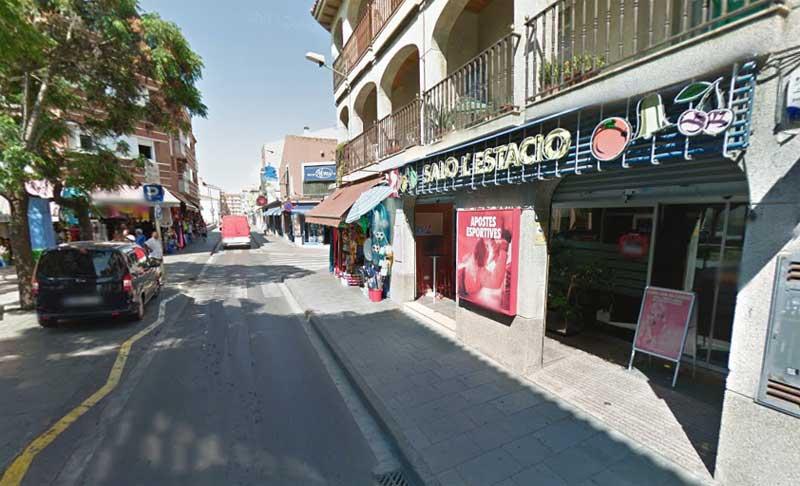 El ataque se produjo en la calle Sant Esteve