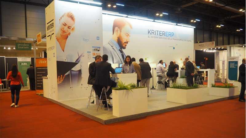 El stand de Kriter en Ifema sirvió para presentar su delegación en Madrid