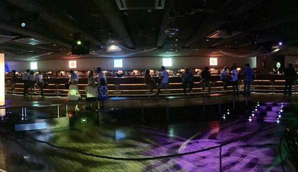 Aspecto del interior de la discoteca Titus
