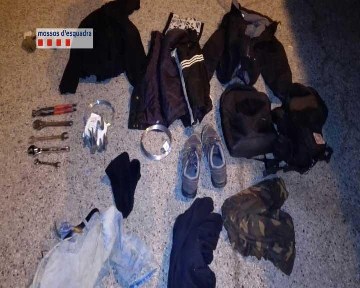 Los ladrones se disfrazaban de operarios de Adif para sustraer el cable de cobre