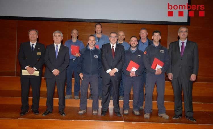 El Conseller d'Interior Jordi Jané hizo entrega de las medallas