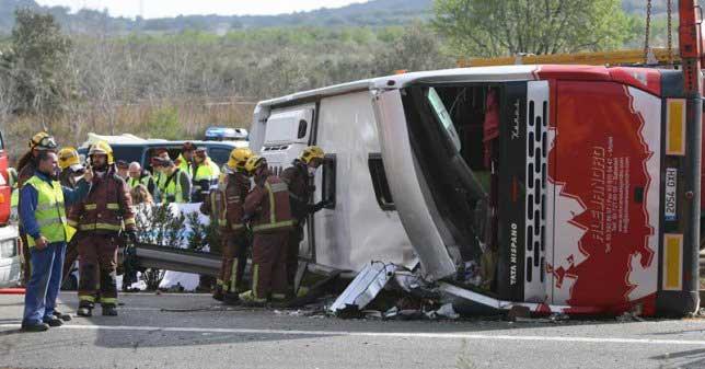 En el accidente del autocar de Mollet se produjeron 13 víctimas mortales