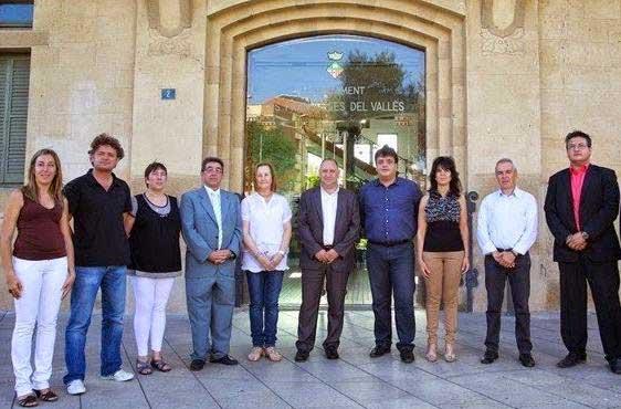 Regidores del Gobierno de Les Franqueses el mandato pasado