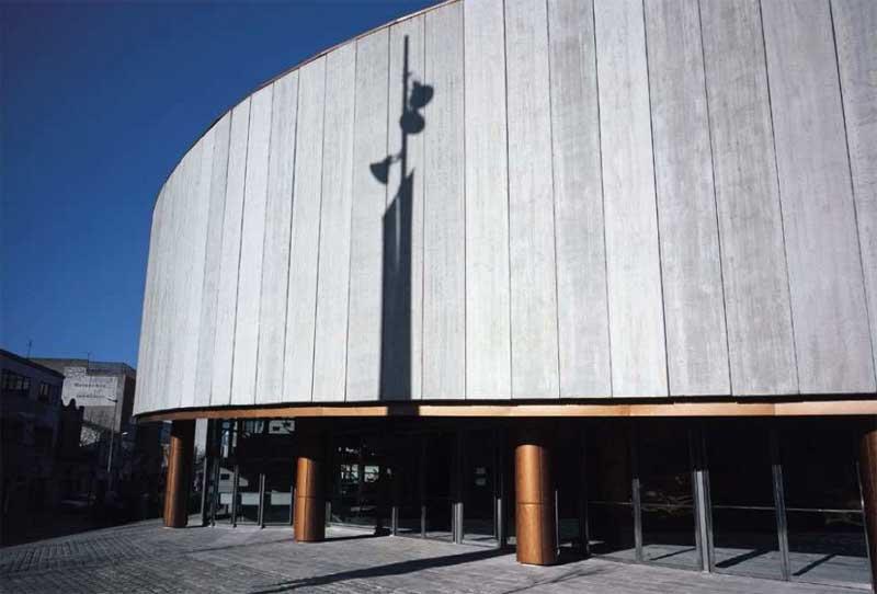 Fachada principal del Teatre Auditori de Granollers