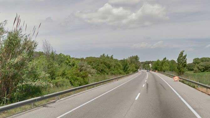 El accidente se ha producido a la altura de Palau-Solità