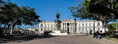 Plaza Gerardo Barrios, Centro de San Salvador