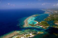 Panorámica del hotel Fanstasy Island