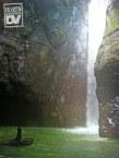 La última caída de agua de las Cascadas de Tamanique