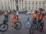 Recorrido en Centro Histórico de San Salvador. Foto Cortesía.