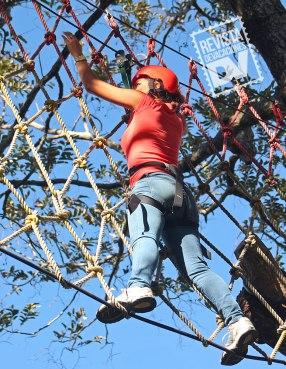 Cuerdas altas en Hotel Santa Leticia