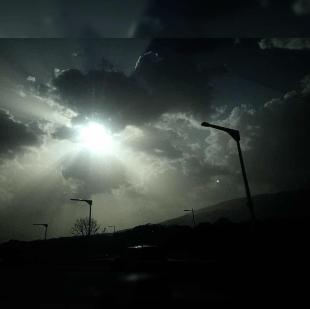 Polvo Sahara en Bulevar Monseñor Romero