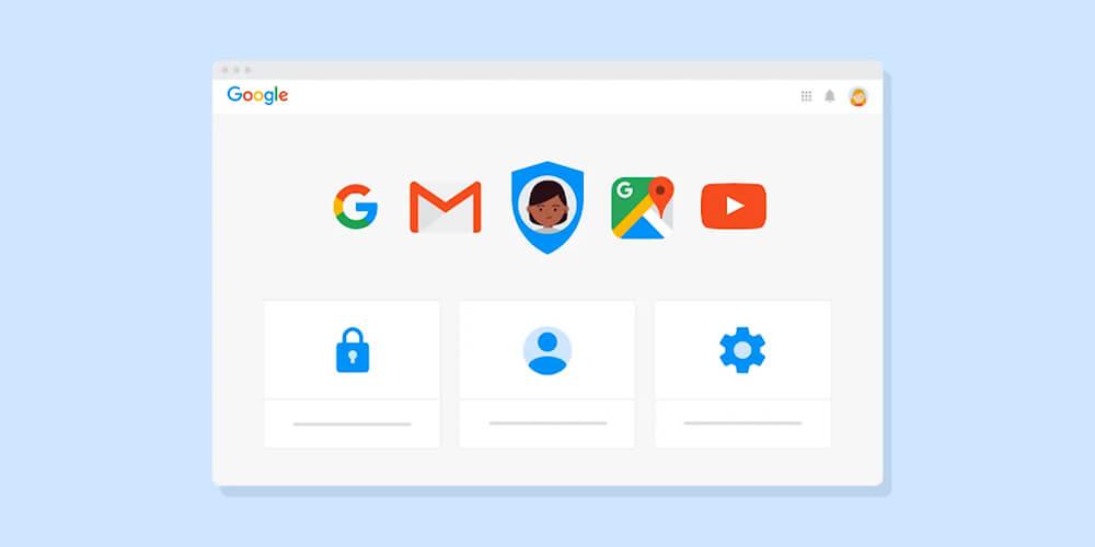 Revista Digital On-line: Desenho da tela do Google