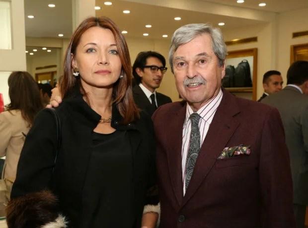 Marisol Hernández y Carlos Alberto Barberi.