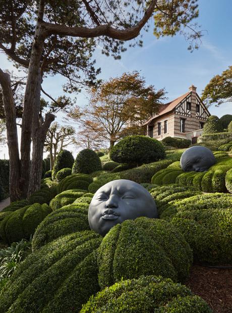 jardines de Etretat