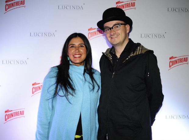 Lays Bally y Alejandro Ordóñez.