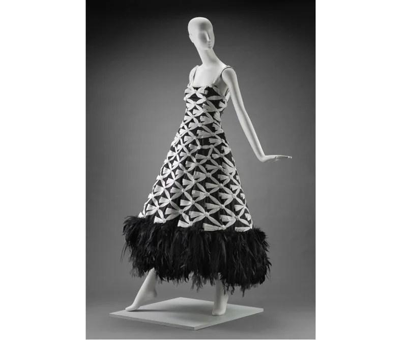 vestido de Karl Lagerfeld