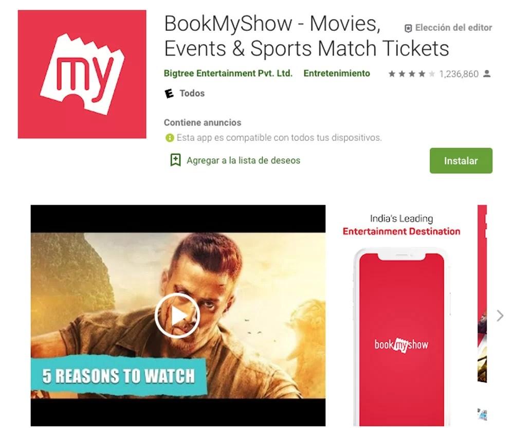 MyBookShow