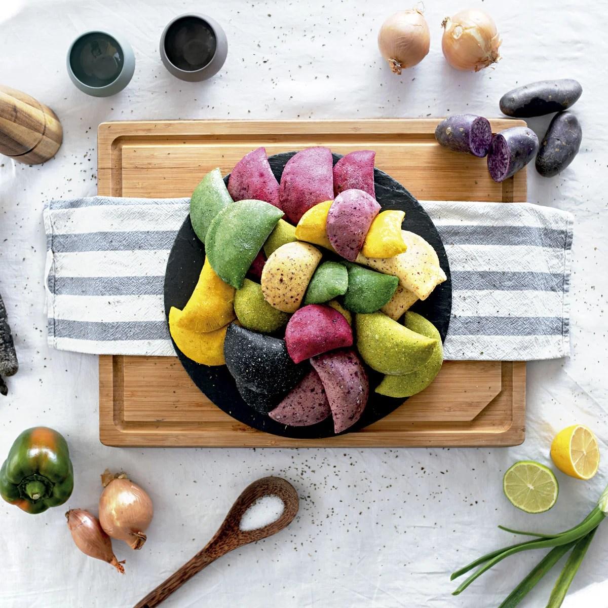 Empanadas de colores