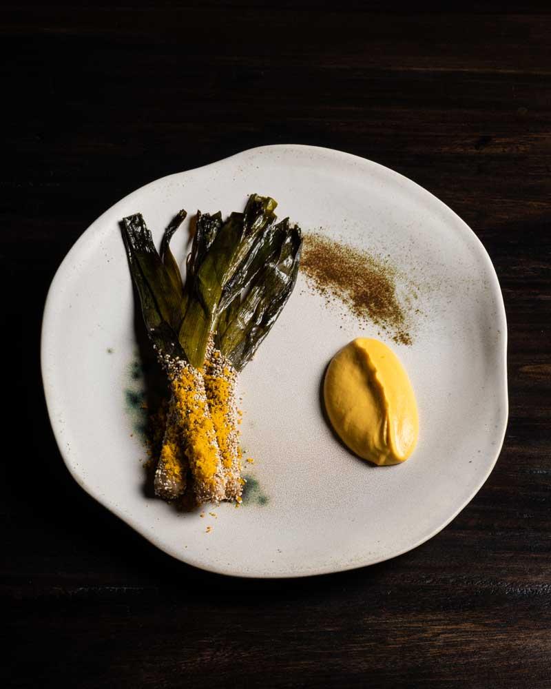 Cebolla puerro, alta cocina, gastronomía colombiana