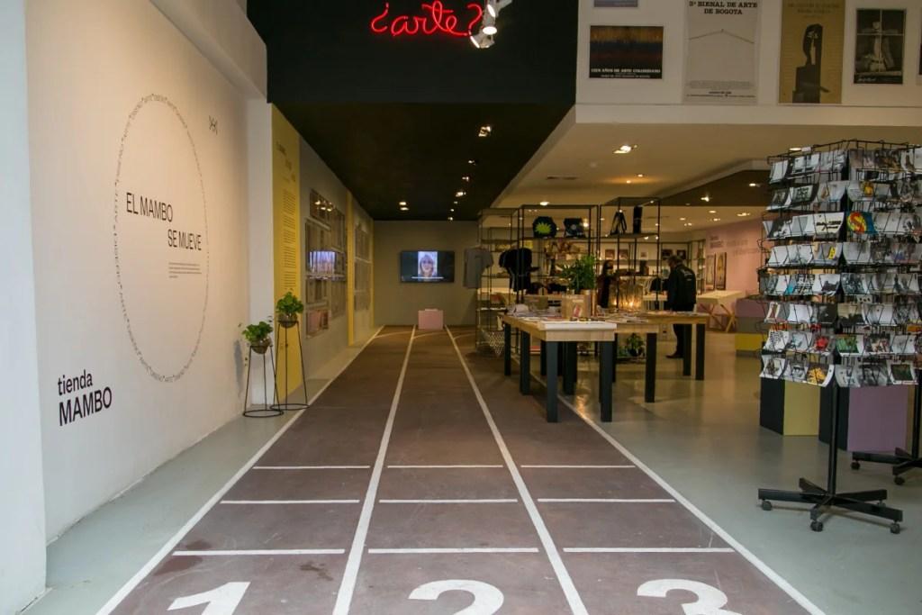 Tienda museo de arte moderno de Bogotá