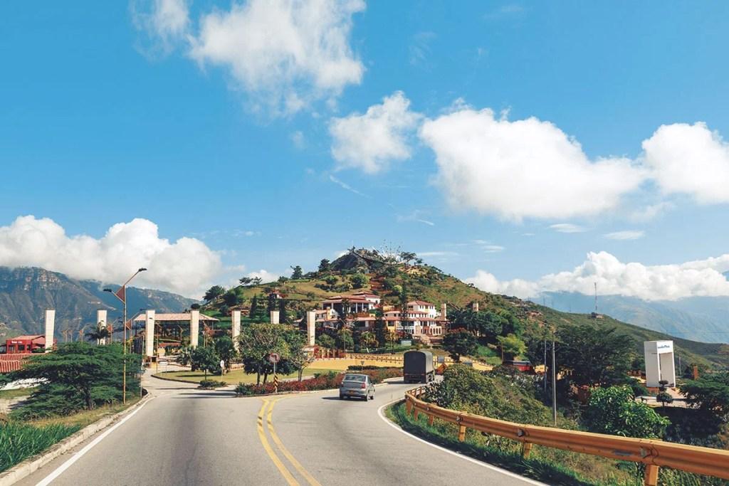 Santander rutas en bicicleta Colombia