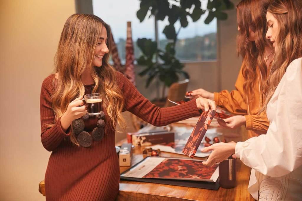 Regalos del bosque, café, Nespresso, Johanna Ortíz, diseñadora