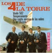 Los 4 de la Torre - EP Vuelo 502 (1966) - v2