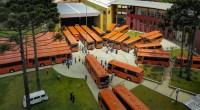 Curitiba celebra 326 nesta sexta-feira e ganha 45 novos ônibus