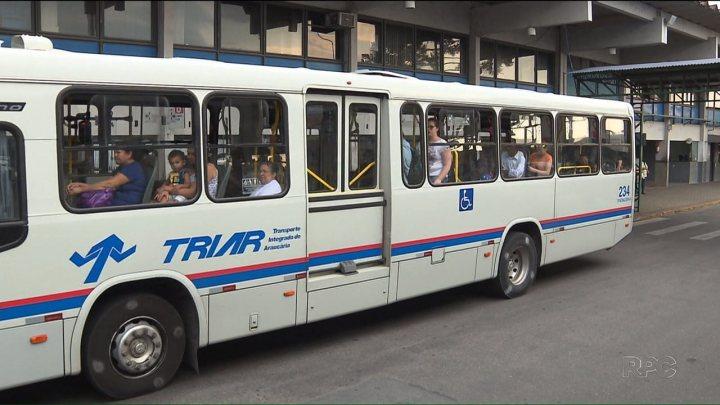PR: Araucária reduz valor da tarifa de ônibus