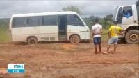 TO: Município de Lizarda fica isolado devido estrada virar um lamaçal