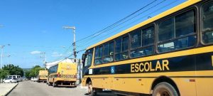 RN: Detran fiscaliza ônibus escolar de diversos municípios
