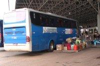 Fiscalização deixa ônibus retidos na rodoviária do Triângulo Mineiro