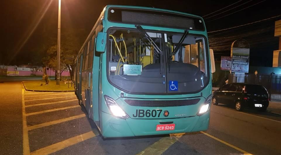 Policia prende bandidos após arrastão em ônibus de Curitiba