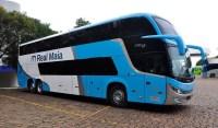 Novos ônibus Comil Invictus DD da Real Maia chamam atenção