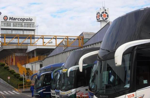 Marcopolo tem queda de 12,7% no seu lucro no primeiro trimestre de 2019