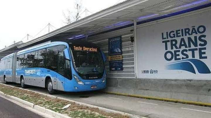 Guarda Municipal prende dois homens no BRT TransOeste