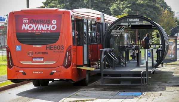 Tarifa de ônibus de Curitiba só deve aumentar em fevereiro de 2020