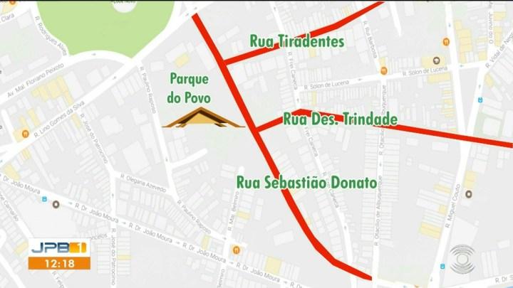 Parque do Povo terá interdições para o São João 2019
