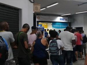 Passageiros relatam problemas com o RioCard