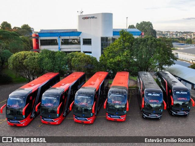 Expresso Adamantina renova parte da frota com novos ônibus Comil Invictus DD