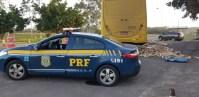 Mulher que dirigia ônibus cheio de drogas é presa no Paraná