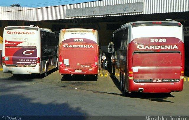 Fiscalização interdita 4 ônibus da Expresso Gardênia em MG