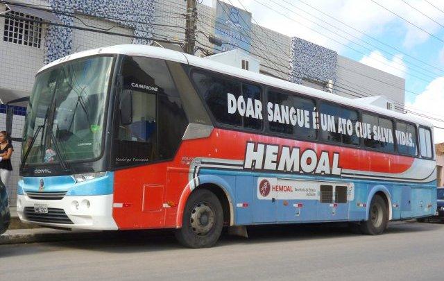 Hemocentro de Alagoas deve adquirir novo ônibus