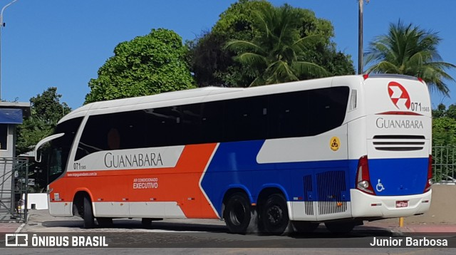 Bandidos assaltam ônibus da Expresso Guanabara no interior do Ceará