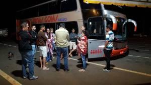 PR: Bandidos assaltam ônibus de turismo em Campo Mourão