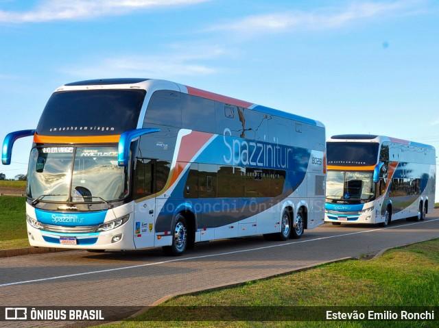 Spazzini Turismo renova com mais Comil Invictus DD Scania 6×2