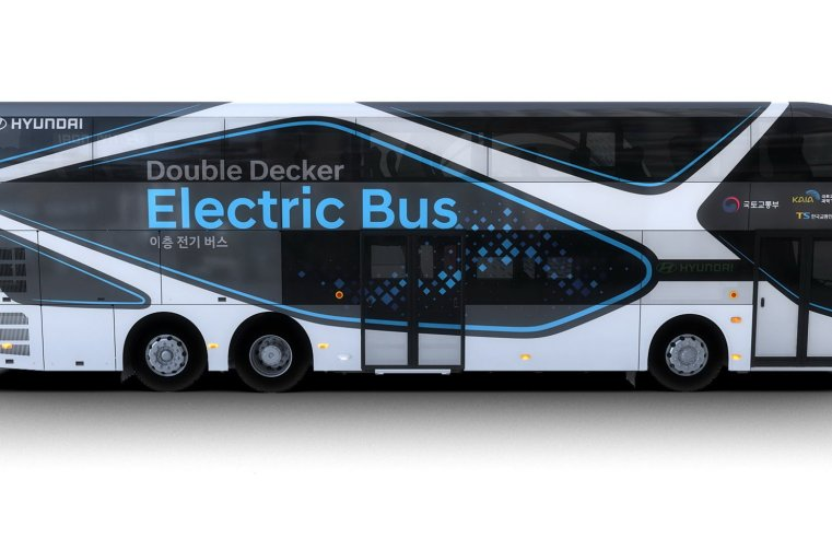 Primeiro ônibus Double Deck Elétrico é apresentado pela Hyundai